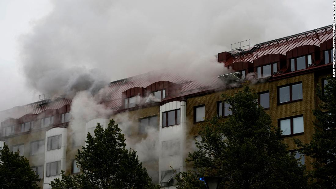 Explosion and fire with 'no natural explanation' injures 16 in Sweden, as police hunt for clues