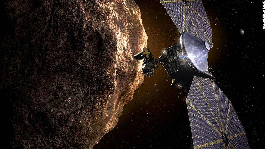 NASA's Lucy mission struggles with solar array issue after launching to space - CNN