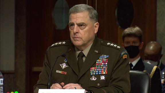 Image for Gen. Milley details his phone calls with Chinese counterpart