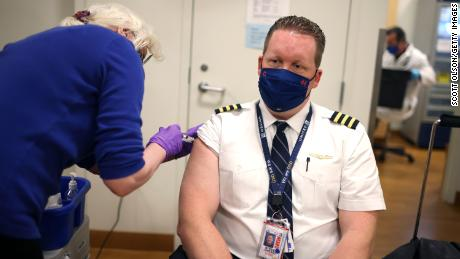 Almost all United employees met the vaccine mandate.