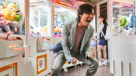 Actor Lee Jung-jae stars as Seong Gi-hun.