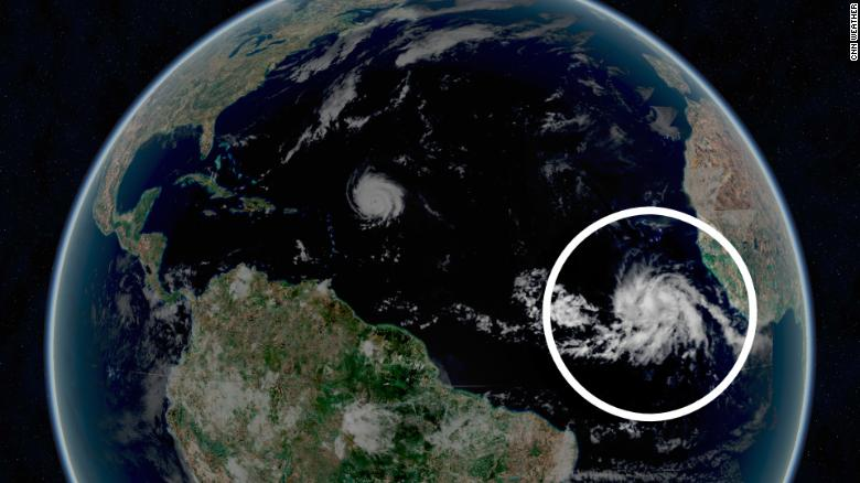 Tropical depression in Atlantic on verge of being named Victor