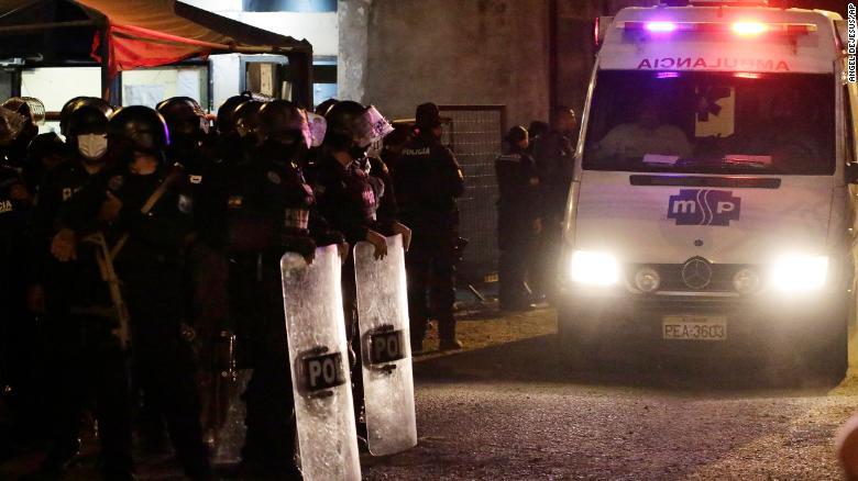 Over 100 killed in bloody Ecuador prison massacre