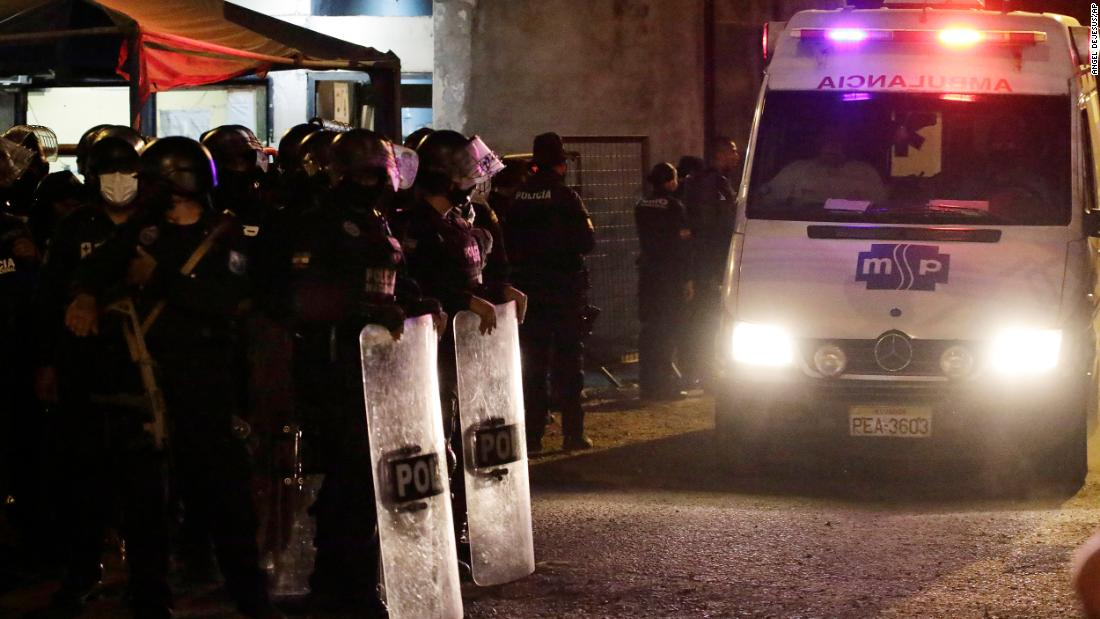 Over 100 killed in bloody Ecuador prison massacre – CNN