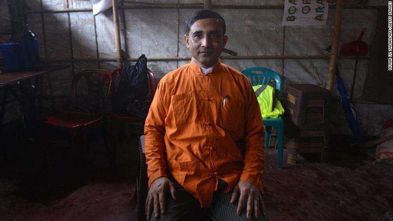 Rohingya leader shot dead in Bangladesh refugee camp