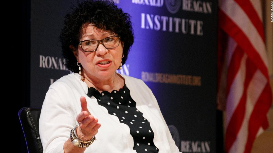 SCOTUS changed oral arguments in part because female justices were interrupted, Sotomayor says