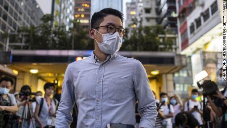 Nathan La, Hong Kong'daki demokrasi yanlısı aktivizmi için rekabet halinde olabilir.