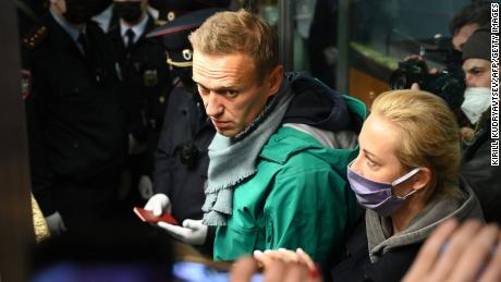 Could jailed Kremlin critic Alexey Navalny be named this year's winner?