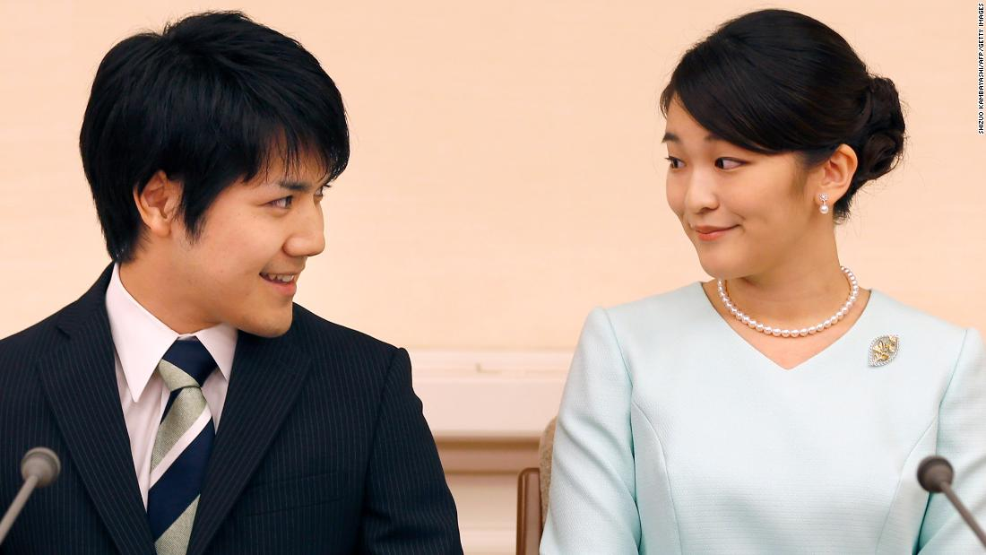 Japan's Princess Mako is getting married, but it's no royal fairytale