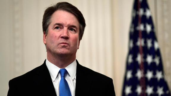 Image for Supreme Court Justice Brett Kavanaugh tests positive for Covid-19