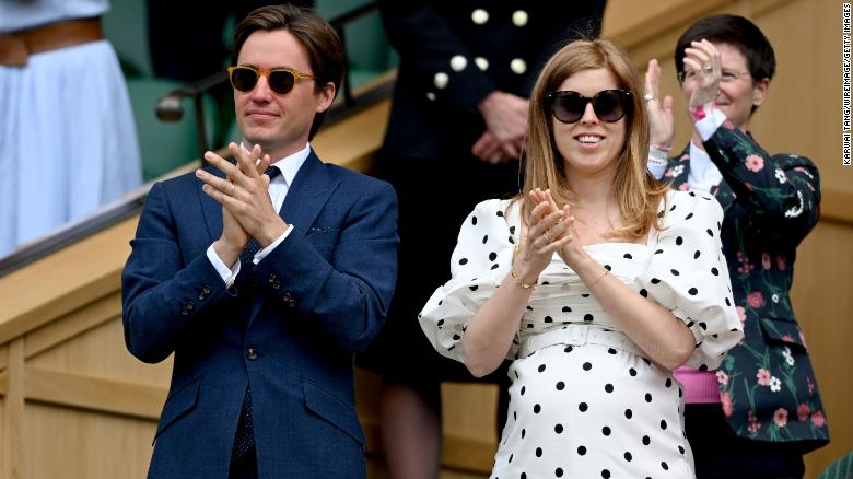 Princess Beatrice, Queen's granddaughter, pays tribute to monarch with baby's name