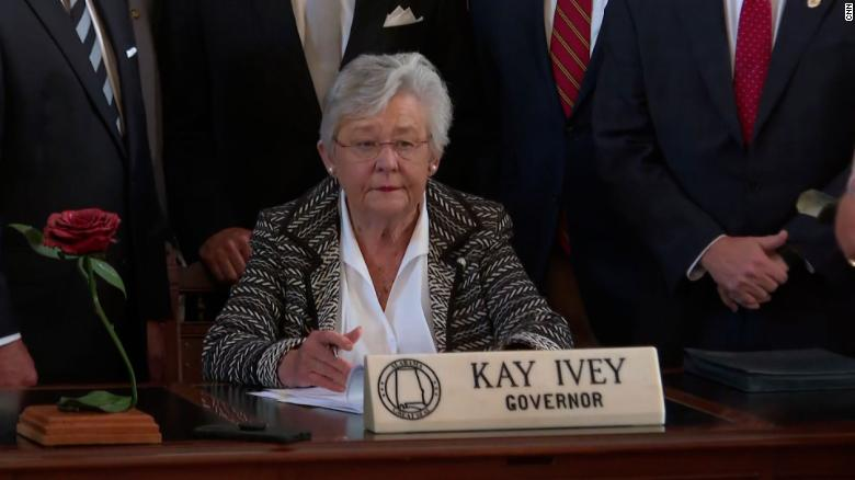 Alabama GOP governor signs bills to use Covid-19 relief funds to build prisons into law