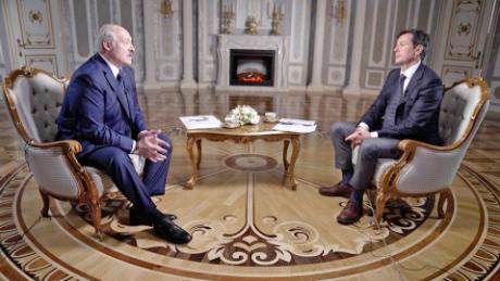 Zapis: Wywiad CNN z białoruskim przywódcą Aleksandrem Łukaszenką