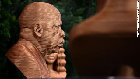 John Lewis sculpture