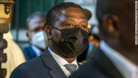 Rockfeller Vincent was fired from his position as Minister of Justice and Public Security in September.