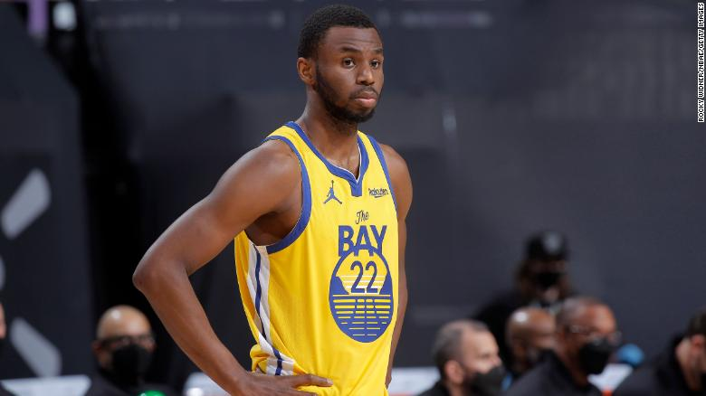 Golden State Warriors player Andrew Wiggins receives Covid-19 vaccine after being denied religious exemption