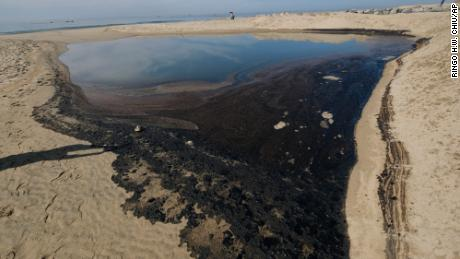 Shares plunge in small company responsible for massive California oil spill
