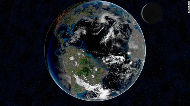 The Earth isn't as bright as it once was