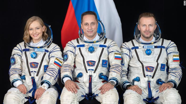 Russian actor and director will launch with cosmonaut to film first movie made in space
