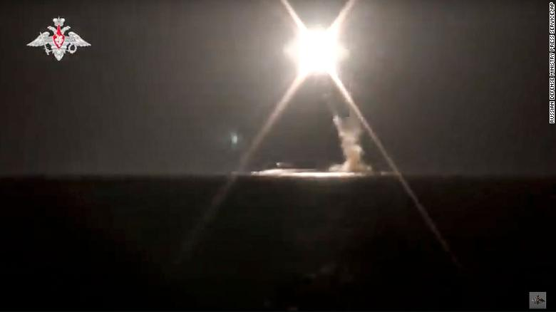 Russia test fires submarine-launched hypersonic Tsirkon missile for first time