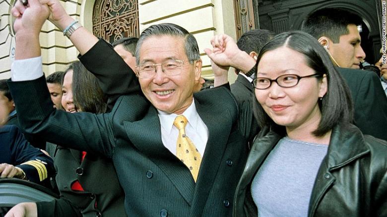 Alberto Fujimori, ex-president of Peru, in 'delicate' health after hospitalization