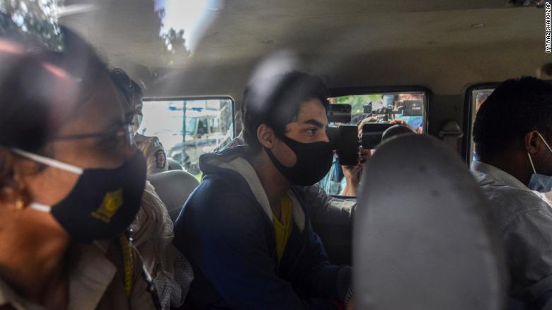 Son of Bollywood superstar Shah Rukh Khan in custody in drugs probe