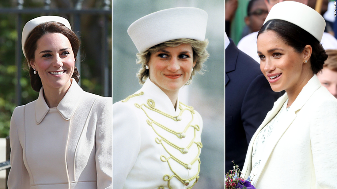 How Kate and Meghan pay tribute to Princess Diana through their wardrobes