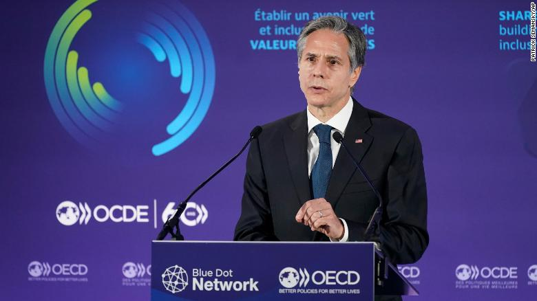 Blinken meets with Macron and senior French leaders amid tensions