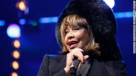 Tina Turner at the premiere of