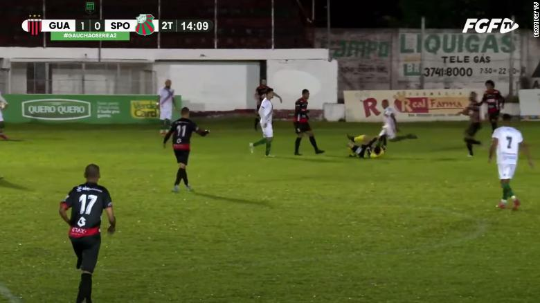 William Ribeiro: Brazilian footballer charged with attempted murder after kicking referee in the head