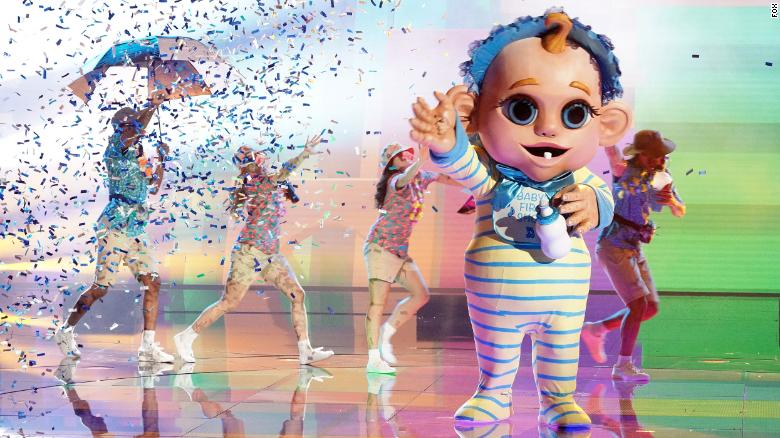 'The Masked Singer' unmasks Baby and the judges are shocked