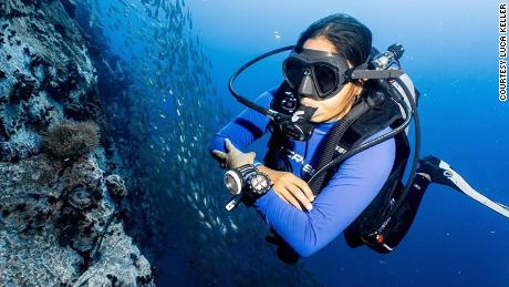 Neha Contractor quit her job during the pandemic to become a scuba diver instructor.