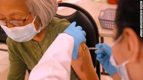 More people are getting Covid-19 vaccine boosters than getting their first shots, CDC data shows