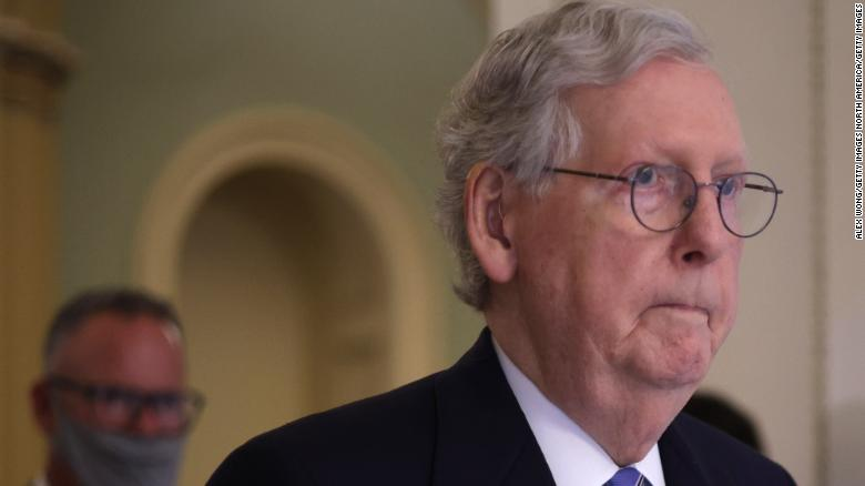 Mitch McConnell just sent a VERY clear message to Donald Trump about 2022