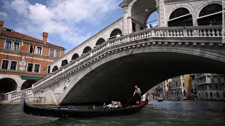 Visiting Venice right now is the opportunity of a lifetime