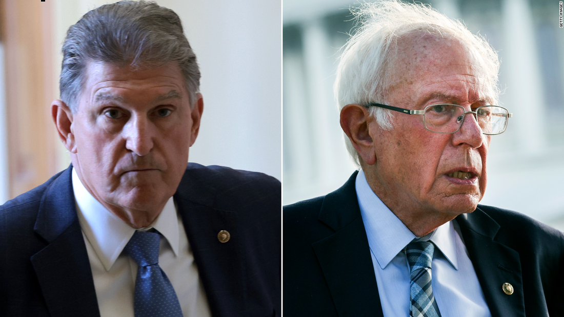Manchin has a message for Sanders: Don't blame me