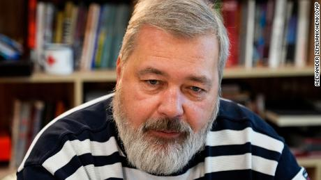 L'editore di Novaya Gazeta Dmitry Muratov ha fondato il giornale nel 1993.