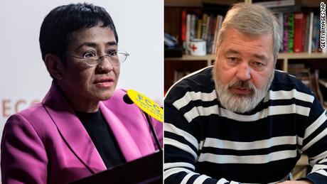 Nobel Peace Prize awarded to Maria Ressa and Dmitry Muratov