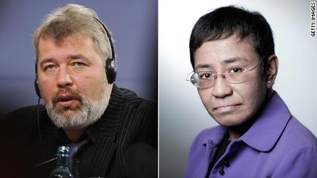 Muratov y Ressa han enfrentado amenazas legales y físicas desde que establecieron sus medios de comunicación.