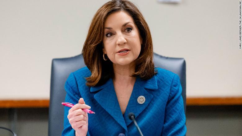 Oklahoma State Superintendent Joy Hofmeister switches parties, enters 2022 gubernatorial race