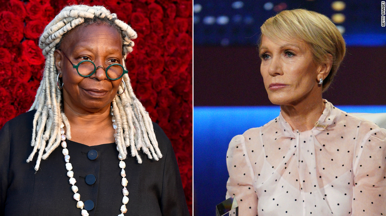 Whoopi Goldberg receives apology from Barbara Corcoran for body shaming joke