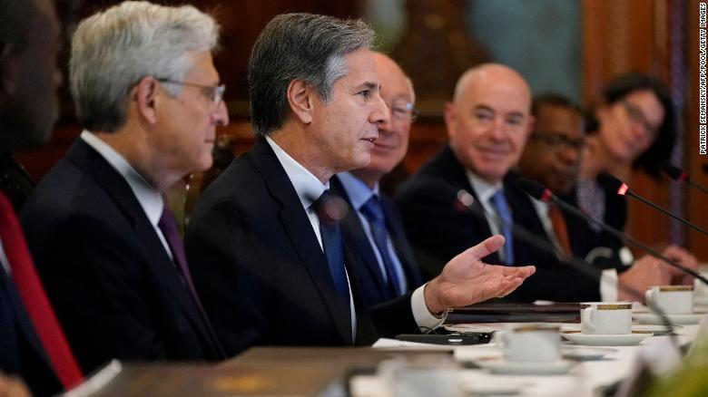 Blinken, Garland and Mayorkas stress US-Mexico ties as they unveil new security pact