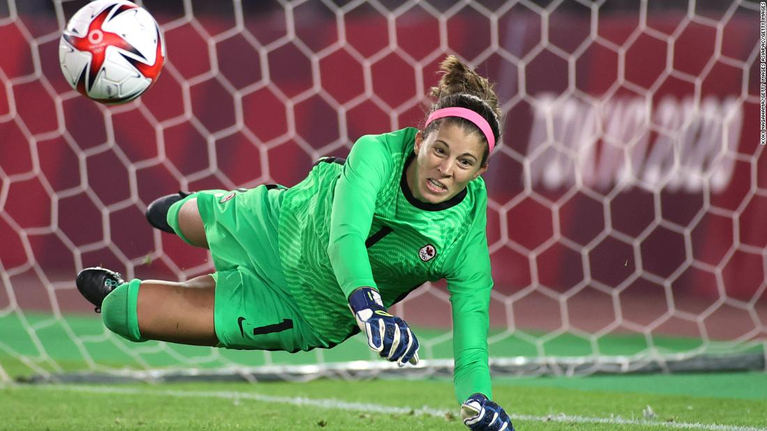 Canadian goalkeeper Stephanie Labbe's journey through panic attacks to Olympic gold