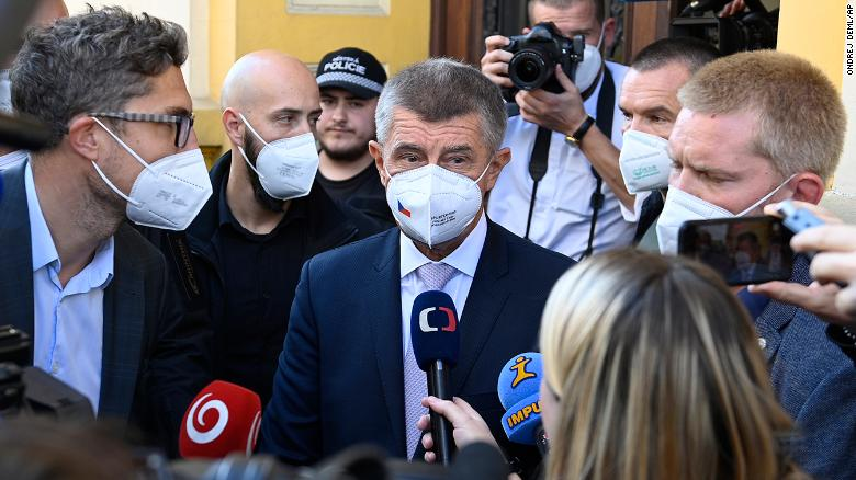 Czech Prime Minister Andrej Babiš's populist party narrowly leads election despite Pandora Papers scandal