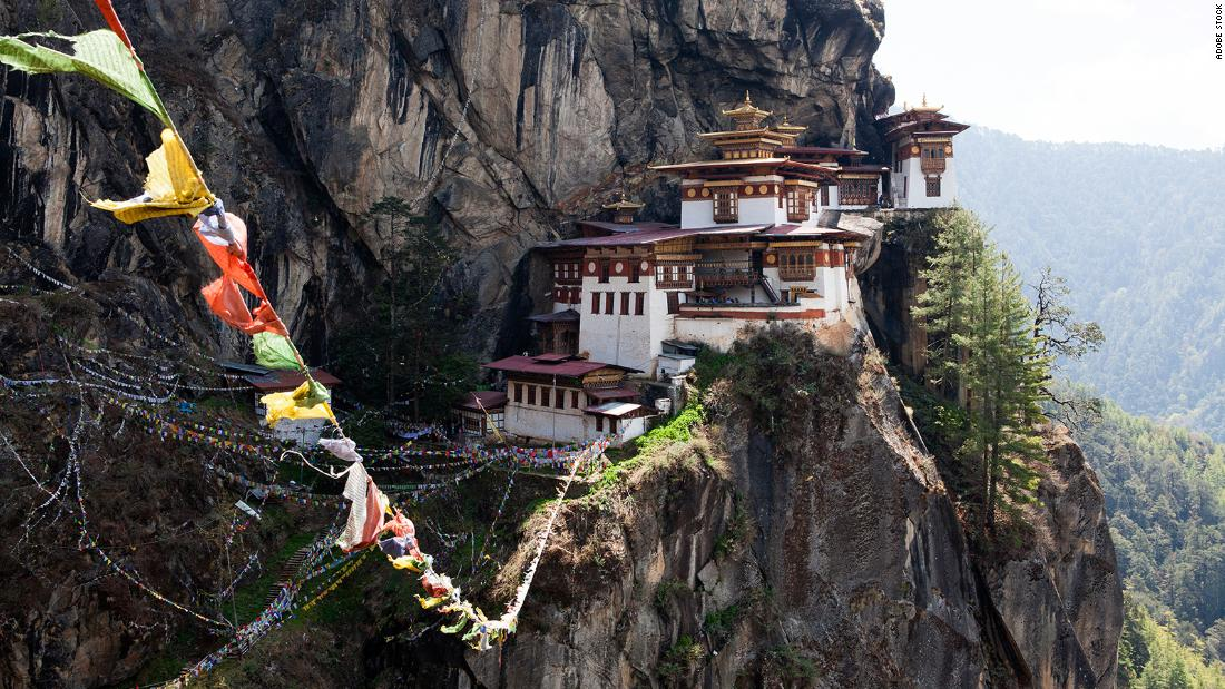 How she was chosen to be the only tourist in Bhutan