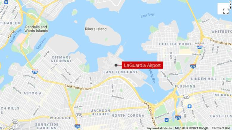 Passengers aboard American Eagle flight deplaned due to 'potential security threat' at LaGuardia Airport