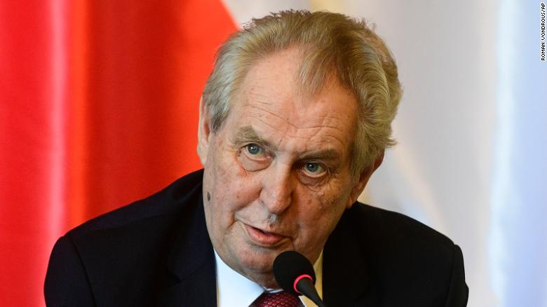 Czech President in intensive care after holding talks on dramatic election