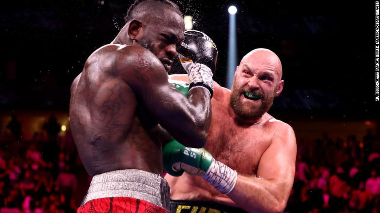 Tyson Fury knocks out Deontay Wilder to retain WBC title in heavyweight fight for the ages