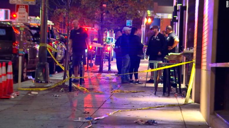 Shooting at a Minnesota bar leaves 1 dead and more than a dozen wounded