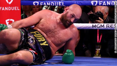 Fury was put on the canvas by Wilder in the fourth round.